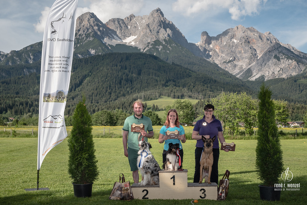 Obedience CUP Turnier Saalfelden 2018